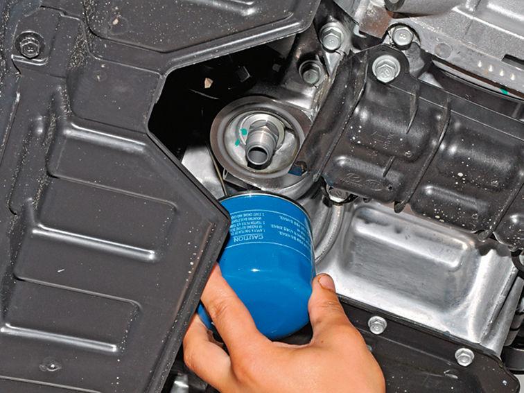 Замена масла и фильтров Hyundai и Kia